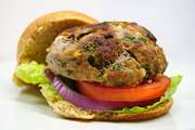 Feta Spinach Turkey Burger