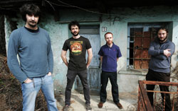 I Treni All'Alba Band Photo