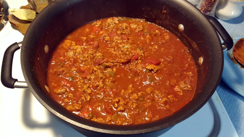 Craig's Heavy Metal Chili