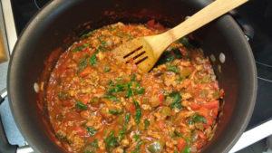 Paleo Cajun Sausage Stew