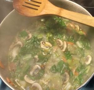 Bok Choy Soup
